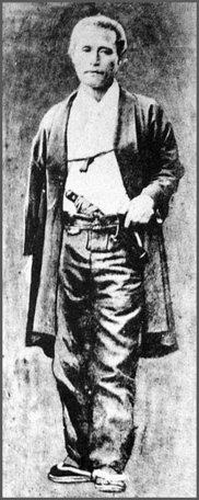 Katsu Kaishū (1823 – 1899), Sakamoto's Mentor © Wikimedia Commons